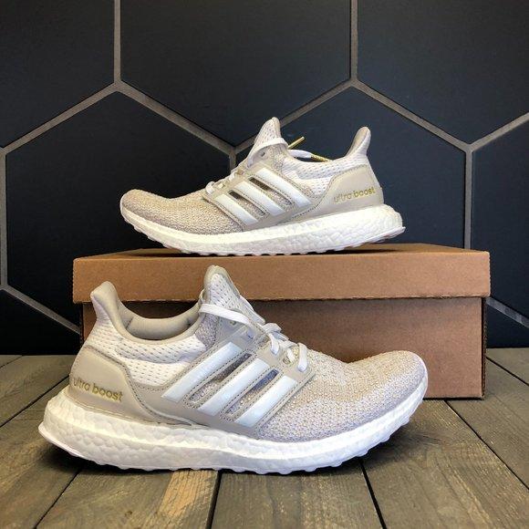 Womens Adidas Ultraboost DNA White Cream Size 7